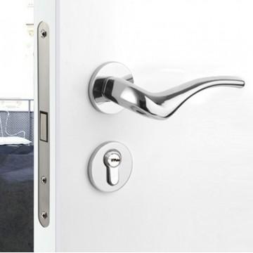 Allure 210 Designer Lever Handle on rose & Mortise Lock Set