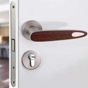 Duo 240 Designer Lever Handle on rose & Mortise Lock Set