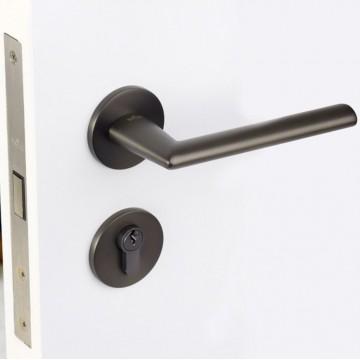 Lagom 232 Designer Lever Handle on rose & Mortise Lock Set