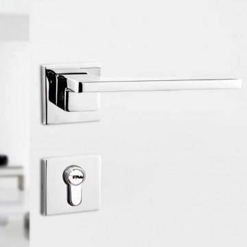 Lagom 247 Designer Lever Handle on rose & Mortise Lock Set