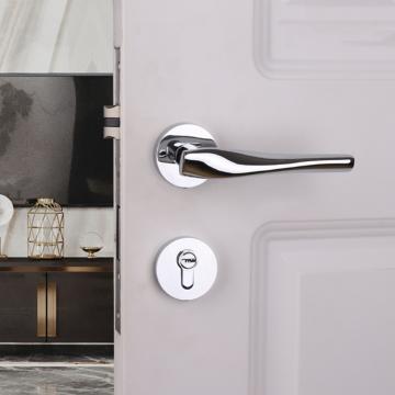 Allure ZA4114 Designer Lever Handle On Rose & Mortise Lock Set