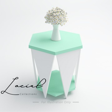 LST001 Beeble Petal Table